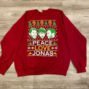 Sweaters - Jonas Brothers Christmas Sweater NWOT